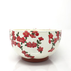 Red Serving Bowl