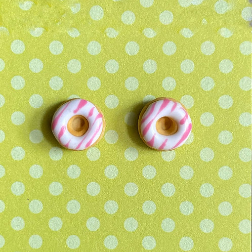 Itty Bitty Donut SS Earrings