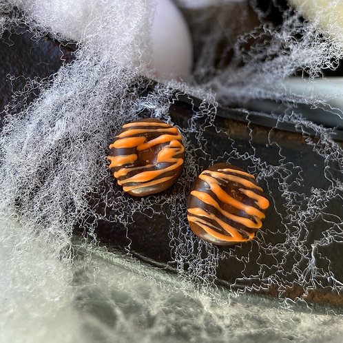 Halloween Dream Tiny Donut SS Earrings