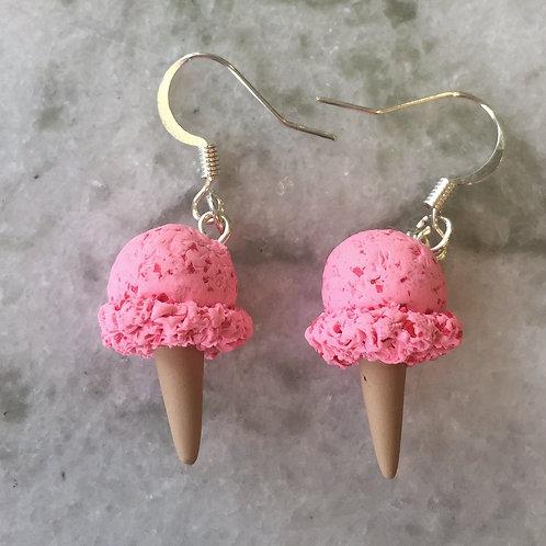 Very Cherry Ice Cream Earrings