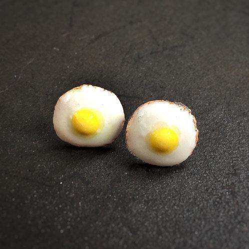 Keep on the Sunny Side Egg SS Earrings