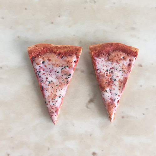 Cheese Pizza SS Post Earrings