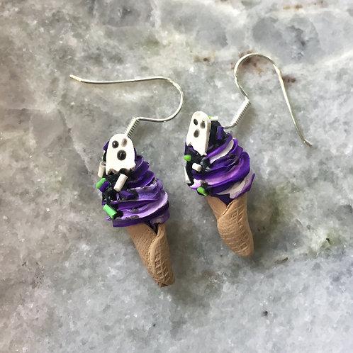 Spooky Sorbet in Grape Deluxe Earrings