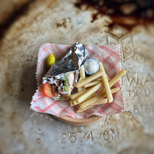 Gyro and Fries Platter