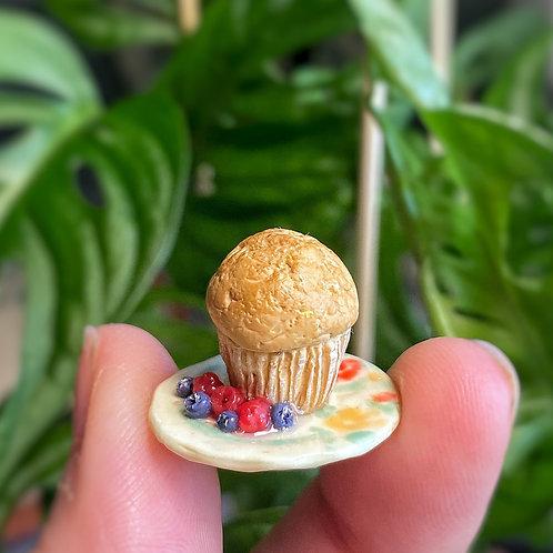 Banana Nut Muffin Plate