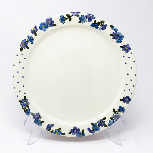 Dinner Plate Blue / Purple
