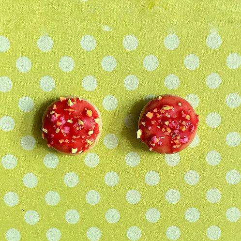 Itty Bitty Donut SS Earrings