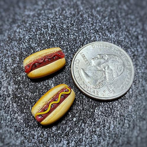 Hotdog Earrings SS Posts
