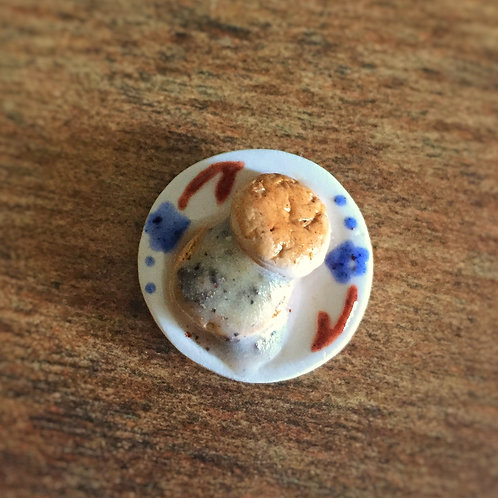 Breakfast Club:  Biscuit and Gravy Plate Pin