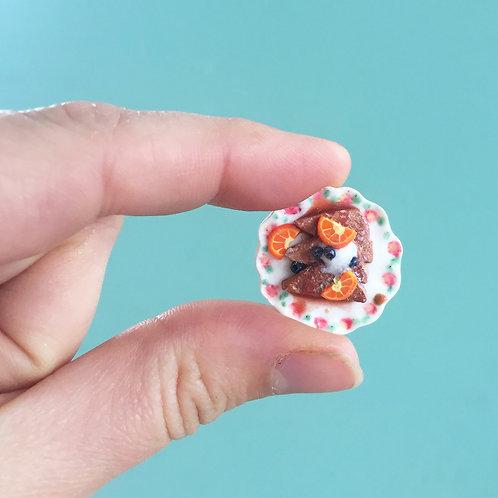 Breakfast Club: Grandma's French Toast Plate Pin