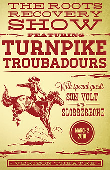 Poster Design. Aeg Presents x Turnpike Troubadours.