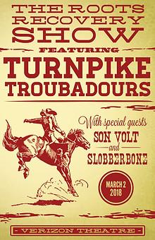 Poster Design. Aeg Presents x Turnpike Troubadours.