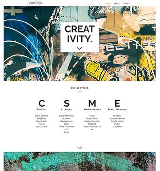 Wed Design. Pinsky Associates.