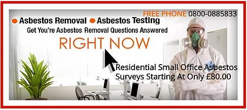 Before Undertaking Any Removal It Is Advised You Perform An Asbestos Survey First