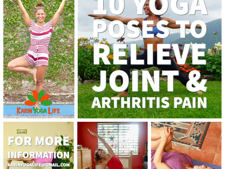 "Now Available! ""10 Yoga Poses To Relieve Joint & Arthritis Pain"" Online Course"