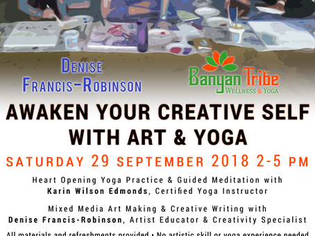 Awaken Your Creative Self with Art & Yoga