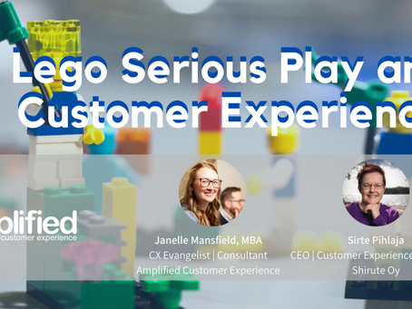 Adding Lego Serious Play into your CX Program