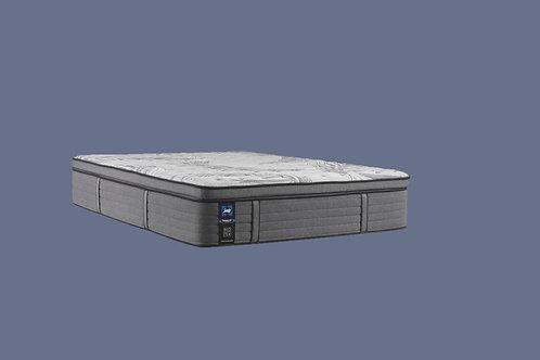 "Split Cal-King Sealy Posturepedic® Plus Satisfied II 14"" Medium Euro Top Mat"