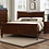 Thumbnail: Louis Philippe III Bed Frame Cherry