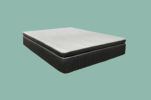 "Cal-King iAdjust Organic Latex 14"" Hybrid Noble Soft Mattress"