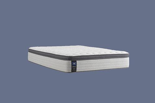 "Sealy Posturepedic Summer Rose 14"" Medium Euro Pillow Top Mattress"