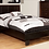 Thumbnail: Winn Park Platform Bed Frame Leatherette Espresso