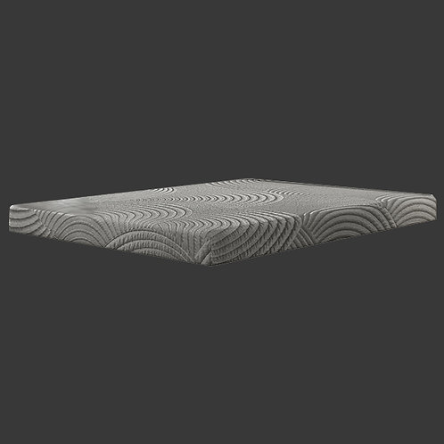 Cal-King 8 inch Gel Max Mattress By BedTech