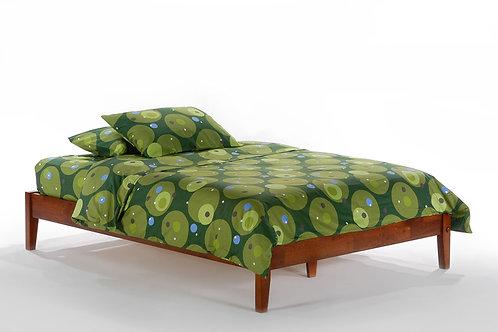 P-Series Basic Wood Platform Bed by Night & Day Furniture