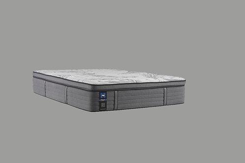 "Cal-King Sealy Posturepedic® Plus Satisfied II 14"" Plush Euro Top Mattres"