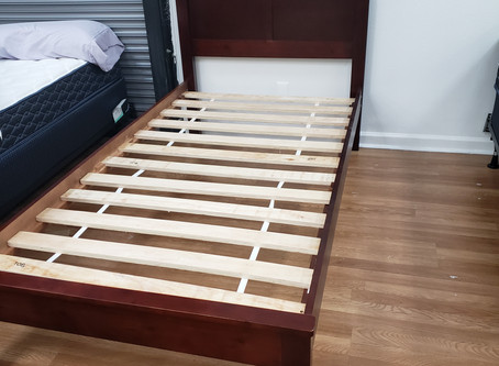 Twin size bed frame $199
