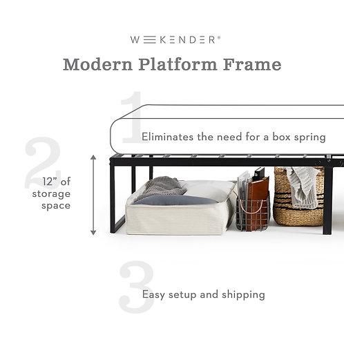 Malouf Modern Platform Frame