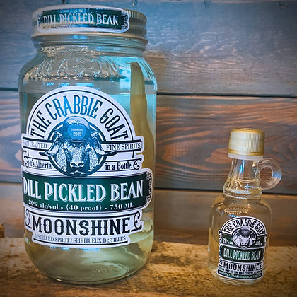 Dill Pickled Bean Moonshine