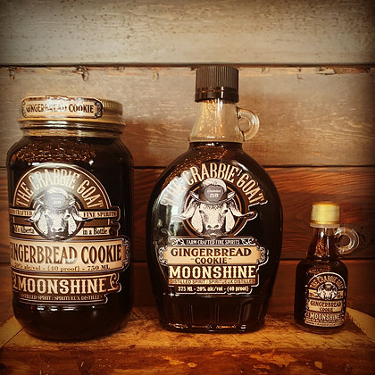 Gingerbread Cookie Moonshine