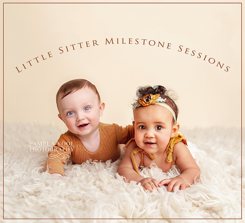 Gorgeous Older Babies - Little Sitter Milestone Photography Sessions Toronto