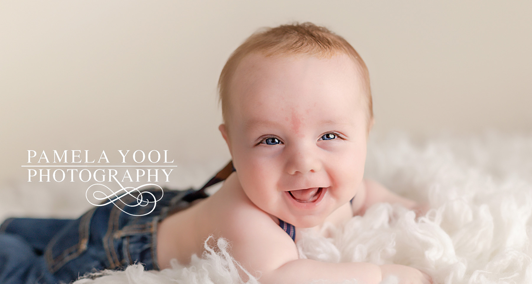 4 month old baby portraits