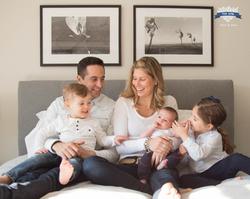 Toronto Newborn photography at home