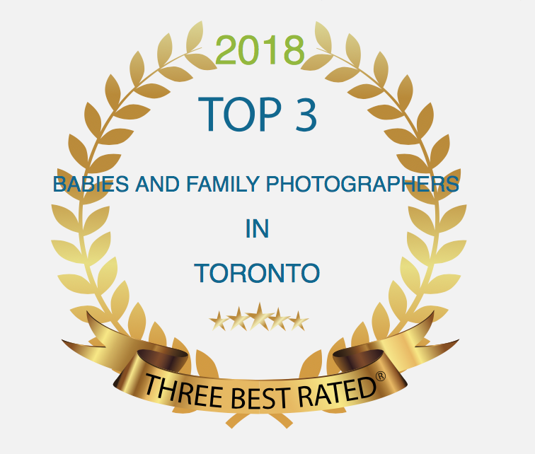 Voted Best Rated Baby and Family Photographer in Toronto