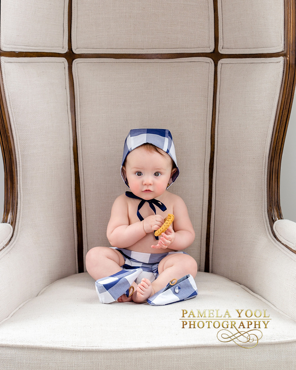 Photoshoot for Collaboration with Petits Genoux X Hästens, Handmade Canadian Baby wear