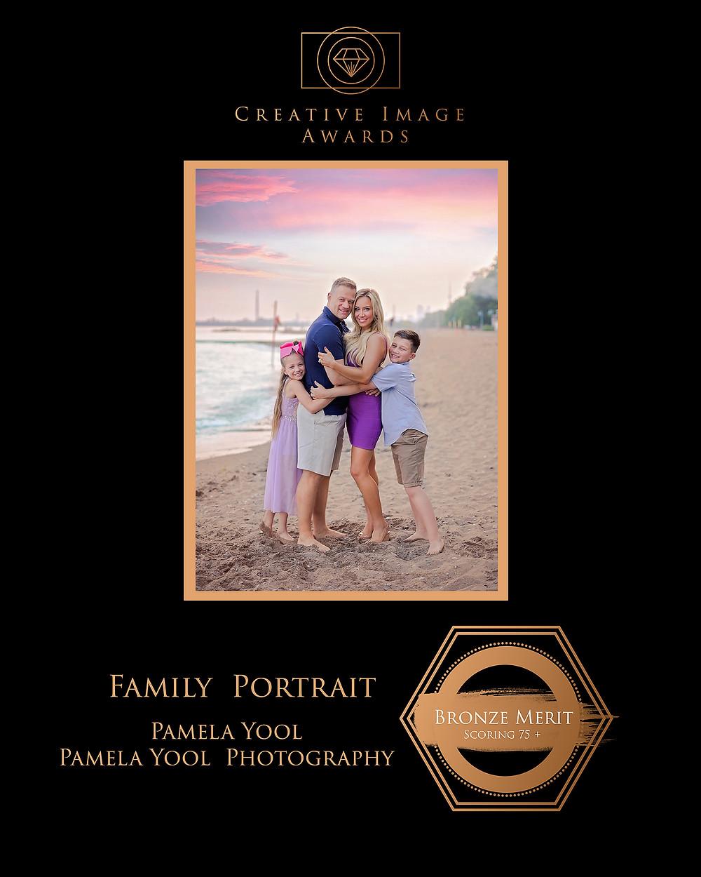 Family Portrait Award Winning Image - Pamela Yool Photography
