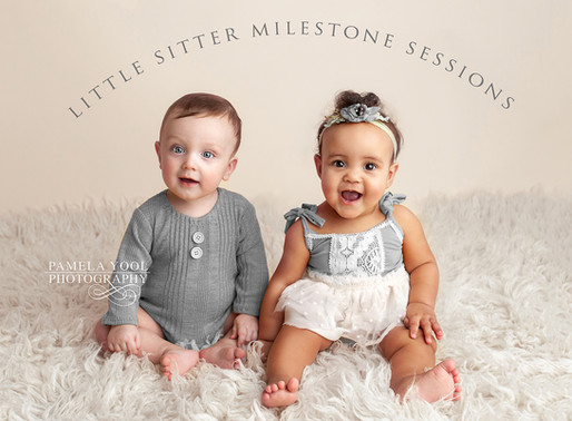 Now Offering - Little Sitter Milestone Sessions!