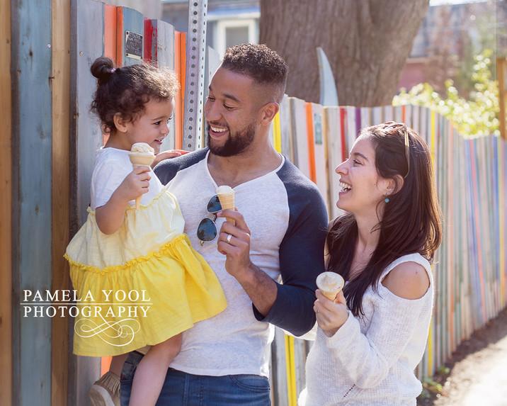 Toronto FC Justin Morrow and Family
