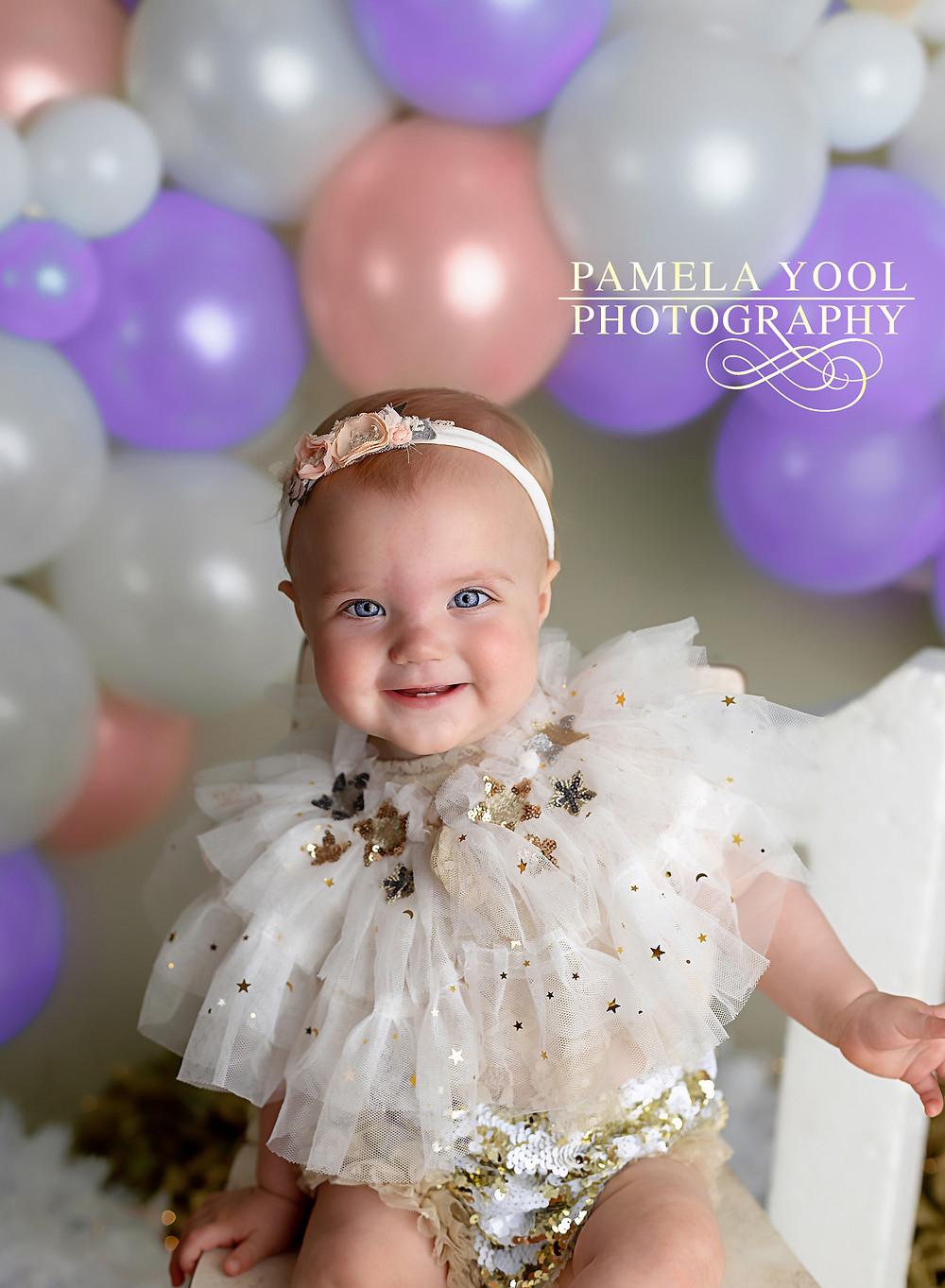 Toronto Baby photographer Cake Smash