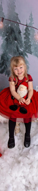 Kids Christmas Portraits in Studio