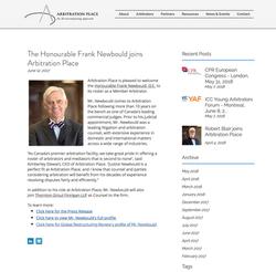 Judge Frank Newbold Headshot