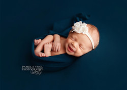Newborn Photography Baby Smiling