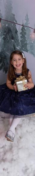 Studio Christmas Portraits for Children