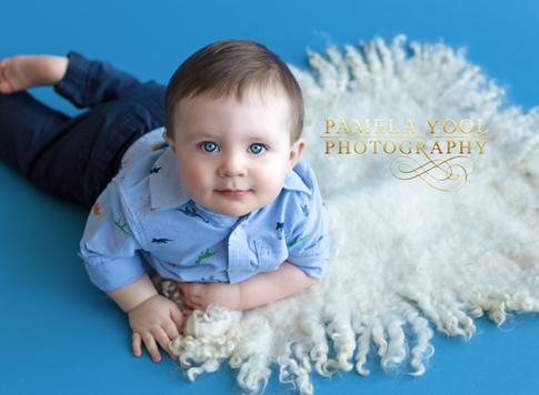 Baby Boy First Birthday  Milestone Photography Toronto