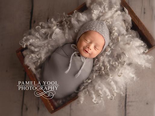 Newborn Baby Coal Xavier - 13 days new | Toronto Photography Studio