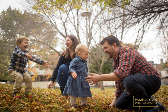 Fall Family Photographer Toronto