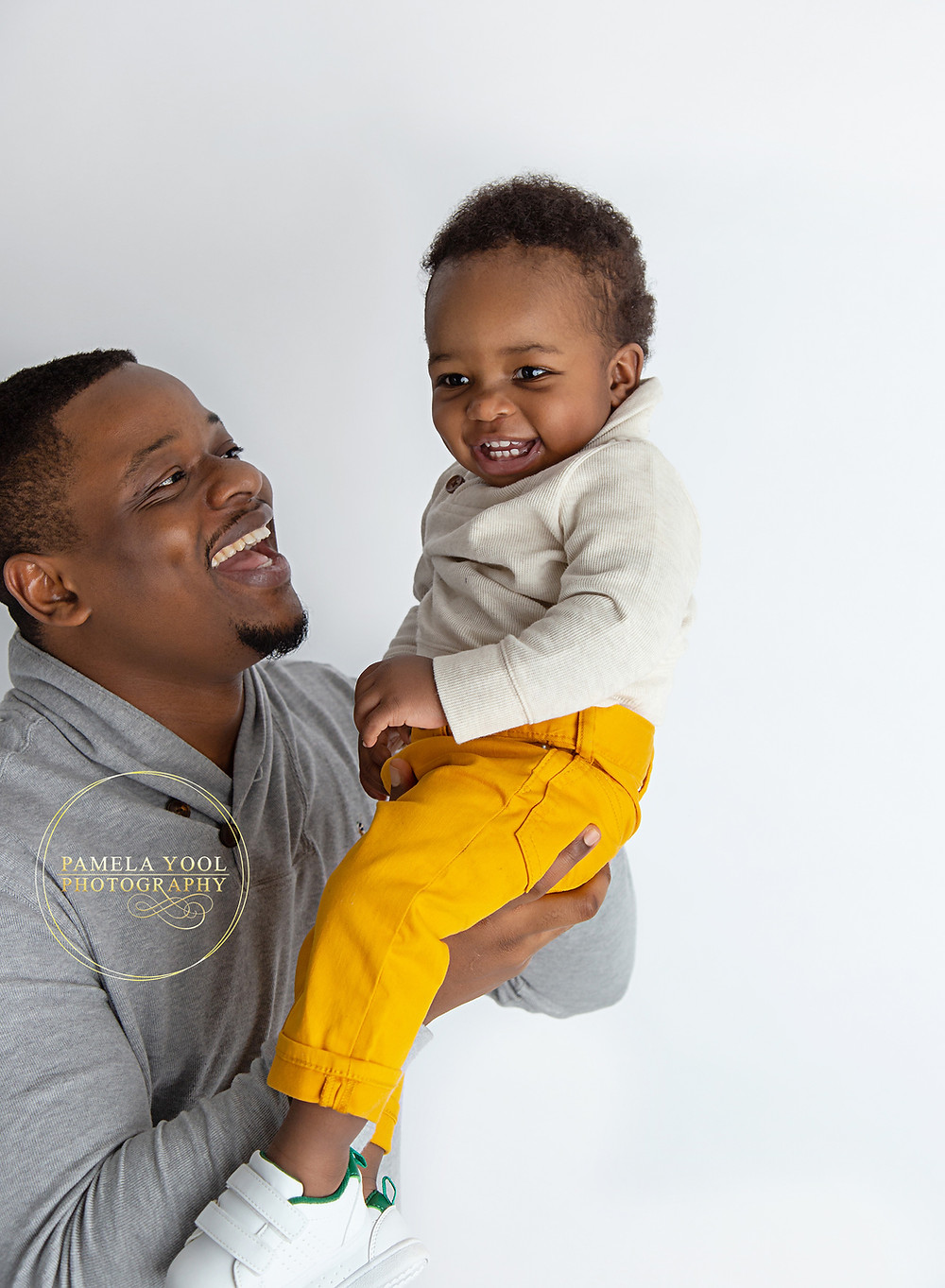 First Birthday Portraits with Daddy